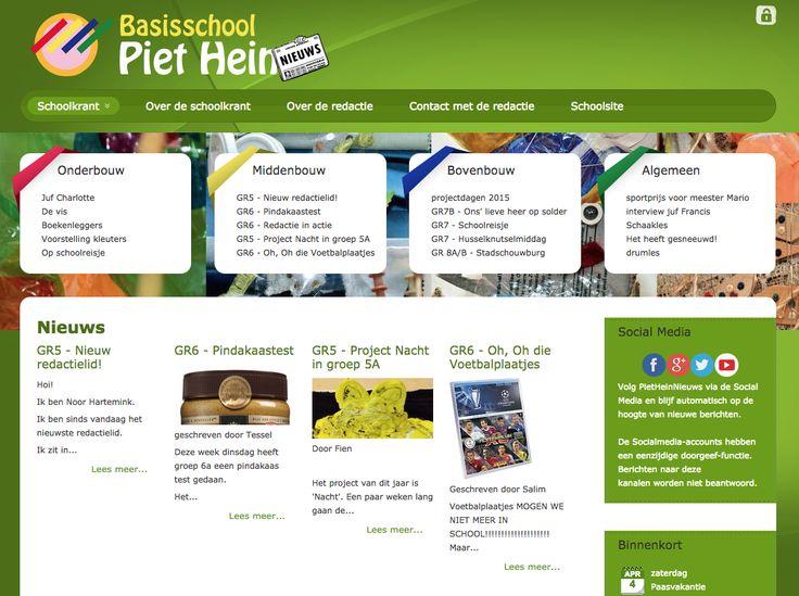 Onderwijs - www.pietheinnieuws.nl