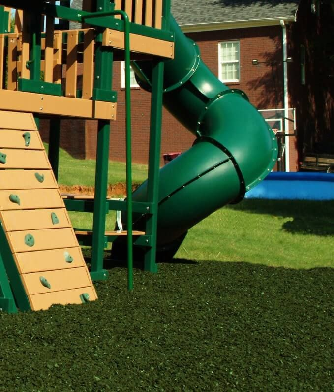 From City Parks To Playgrounds Recycled Rubber Tire Has Been An Attractive Alternative To Wood Mulch For Decades Playground Safety Rubber Mulch Tyres Recycle