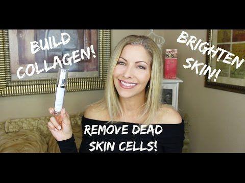 Look Younger! Build Collagen/Remove Dead Skin Cells/Brighten Skin - YouTube