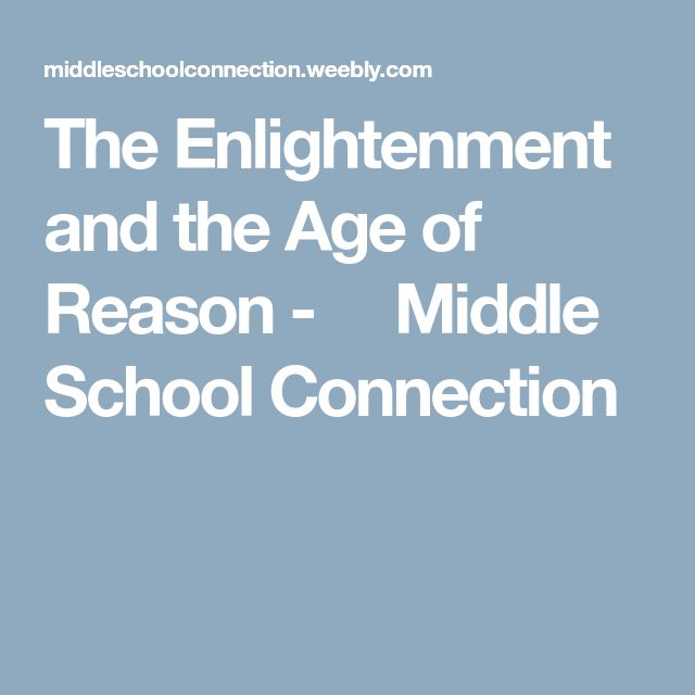 an analysis of the topic of the neoclassical age of reason and the enlightenment The influence of the enlightenment on the new world through a lesson on benjamin franklin and thomas jefferson, author of the declaration of independence the ideals of the eighteenth century enlightenment acquaint students with the vision of.