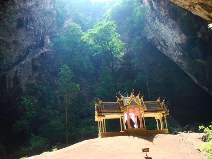 Phrayanakhon Cave, Khao sam roi yot National Park, Prachuap Khiri Khan, Thailand. Photo by : maimikey.