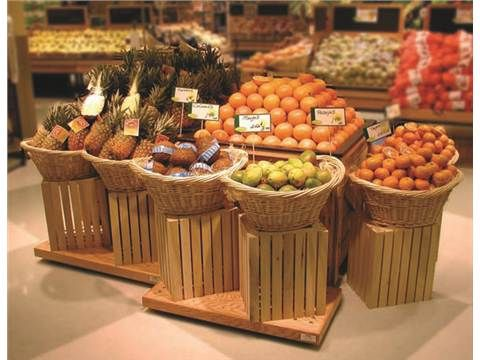 images of produce displays | CMS Displays and Fixtures