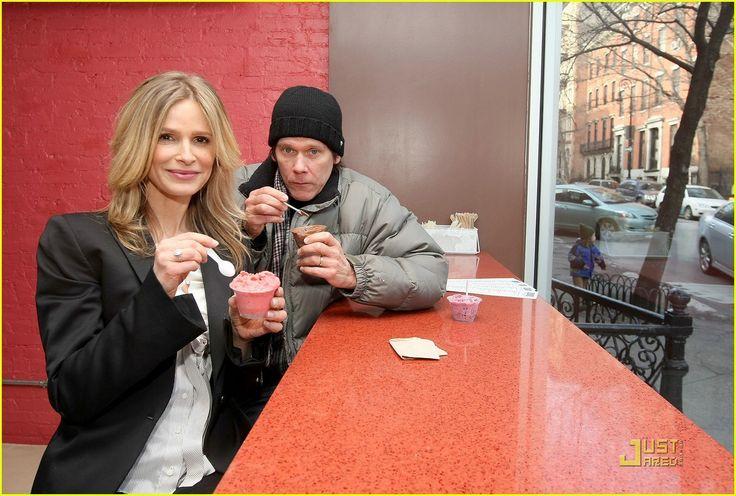 Kevin Bacon's Wife Kyra Sedgwick. Kevin Bacon And Wife Kyra Sedgwick At Stogo Ice Cream Shop
