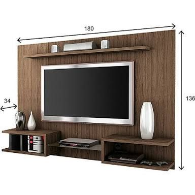 Tv panel with dimension