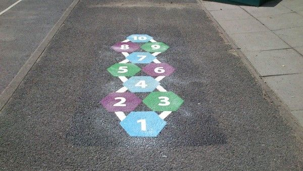 Hopscotch Play Area Painting 12