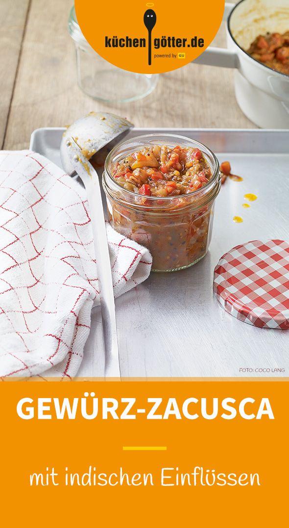 GEWÜRZ-ZACUSCA - Unser herrliche Zacusca-Rezept kann wunderbar auf Vorrat zubereitet werden. Zum Aufbewahren die Masse heiß in saubere Gläser füllen. Hält sich im Kühlschrank wochenlang.