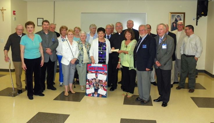 """Knights of Columbus Council, #14615 of The Parish of St. Theresa in Little Egg Harbor, New Jersey, recently held a """"Baby Bottle Boomerang."""" The Knights hold various fundraising drives throughout the year to support culture of life initiatives at the local level."""