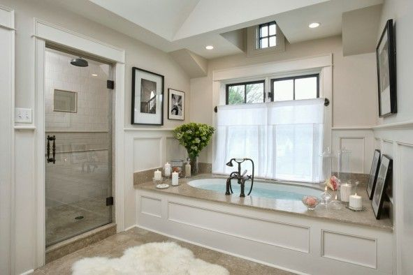 Bathroom, Correct Ways To Clean Black Mold In Bathroom With Shower Room And Mounted Bathtub ~ Disgusting Black Mold in Bathroom Area that Easily Spreads Out