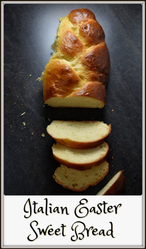 Would you believe mashed potatoes are one of the ingredients in this tender and fragrant recipe for Lina's Italian Easter Sweet Bread (aka Pane di Pasqua)? #BeEggsquisite