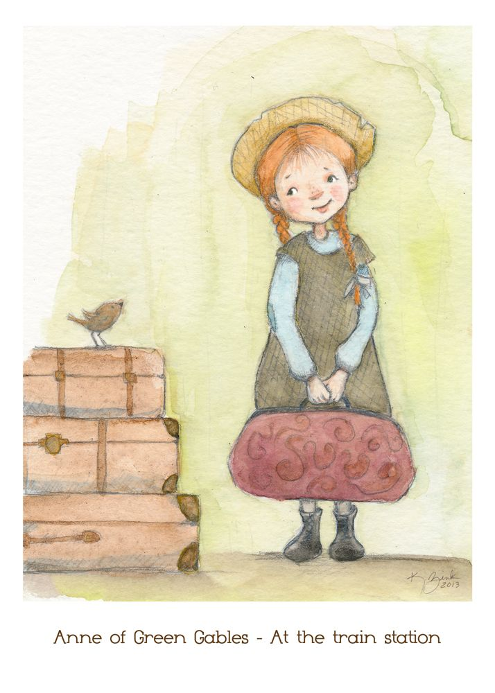 "Kristy Zink, ""Anne of Green Gables - At the Train Station"" (soooooooooooo cute!!!)"