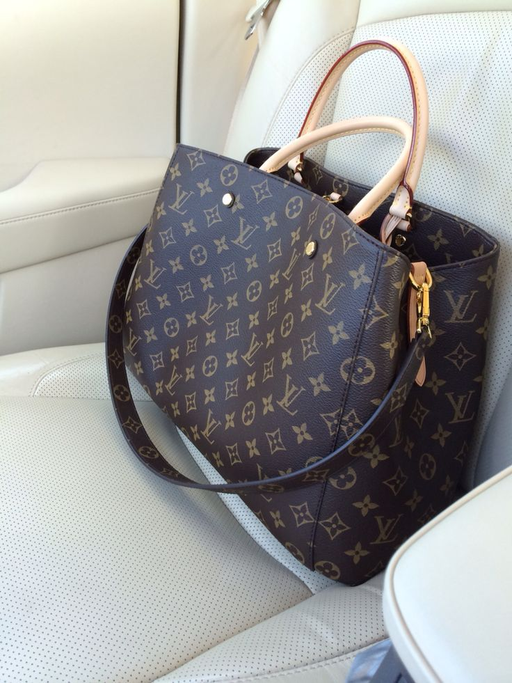 "Louis Vuitton latest edition to my collection ""Montaigne"""