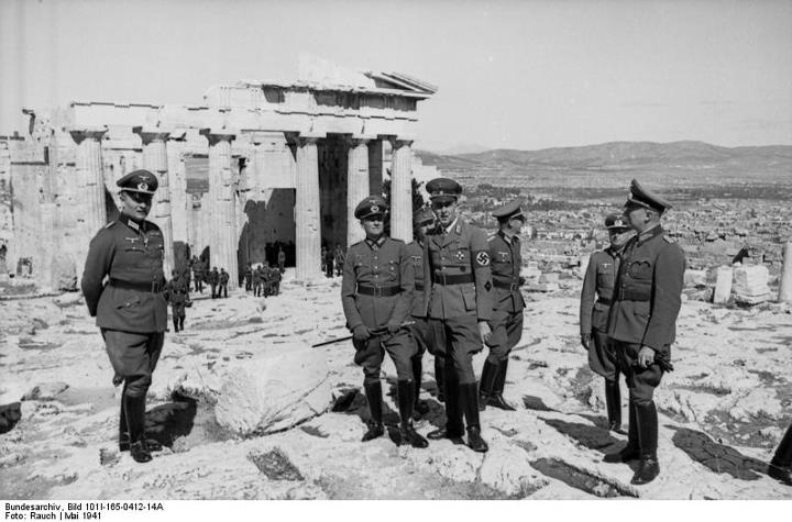 The Axis occupation of Greece during World War II.