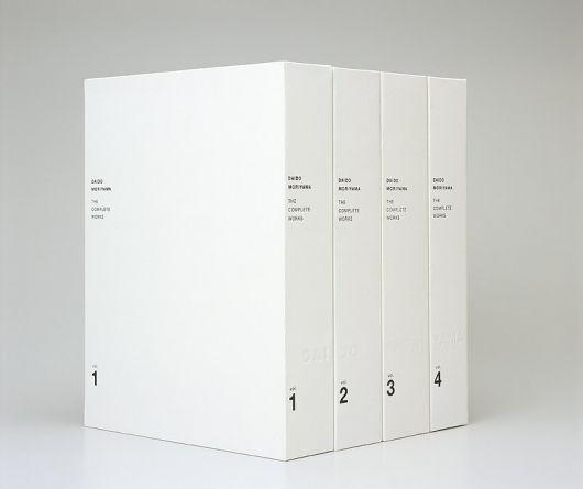 Daido Moriyama Complete Works vol 1-4.