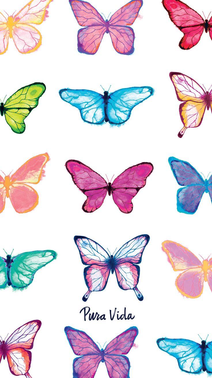 Cupro Skirt - hearts butterflies pink b by VIDA VIDA Shop Offer Cheap Largest Supplier r2RoxR3iJ