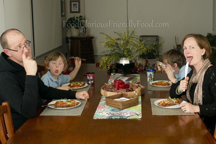Let's Get Real. Behind the Scenes Raising Friendly Food Kids.