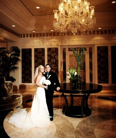Trump International Las Vegas lobby is perfect for some gorgeous wedding photos.  Sight & Sound Events is a preferred vendor of the Trump International Hotel.  Call us today to find out more at (702) 365-9526.