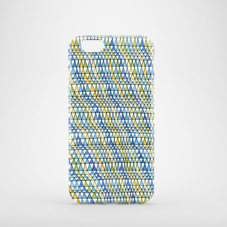 A personal favorite from my Etsy shop https://www.etsy.com/listing/235135876/crazy-triangles-mobile-phone-case-iphone