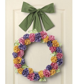 I'm feeling a wreath theme emerging - wonder what's up with that?    Floral Fabric Wreath: new projects: Shop | Joann.com: Crafty Stuff, Wreaths Ix, Wreathfloral Fabric, Wreath Ideas, Fabrics, Craft Ideas, Fabric Wreathfloral, Crafty Ideas