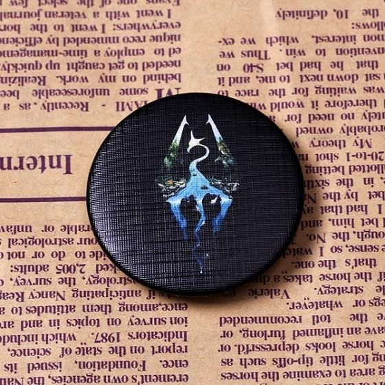 Free Skyrim Badges. We just got our brand new Skyrim badges printed and I wanted to offer them to this sub first. We are giving away 25 to spread the word Just cover half the shipping and share the link when you get yours enjoy. #games #Skyrim #elderscrolls #BE3 #gaming #videogames #Concours #NGC