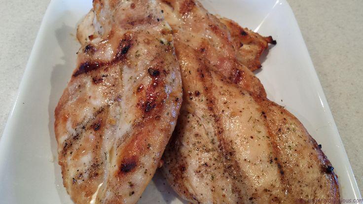 Woodford Bourbon and Garlic Chicken - majorlydelicious.com
