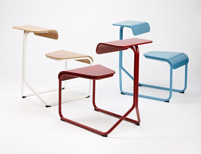 A Hybrid Chair Desk That Fosters Casual Teamwork. Plywood FurnitureNice FurnitureFurniture  DesignChair DesignInnovation ...