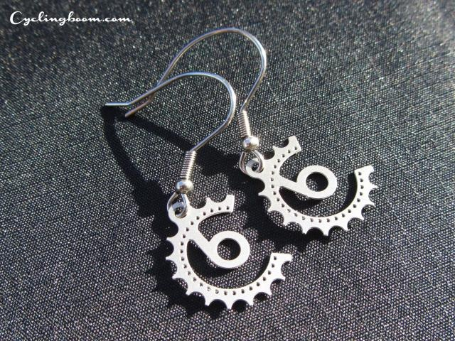 Cb Earrings   Cycling boom products   Bicycle Inspired jewellery $2