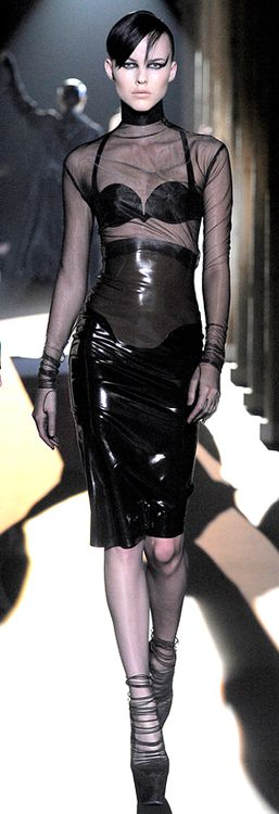 Latex runway fashion ♥✤ | Keep the Glamour | BeStayBeautiful