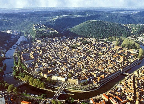 """Besancon, France - said to be the place where my DeShazo/Dechazeaux family came from.  It has been designated the number one city in France for its quality of life and also known as the """"greenest"""" city for two reason:  its environmentally-friendly efforts and the vibrant green that blankets the city each spring."""