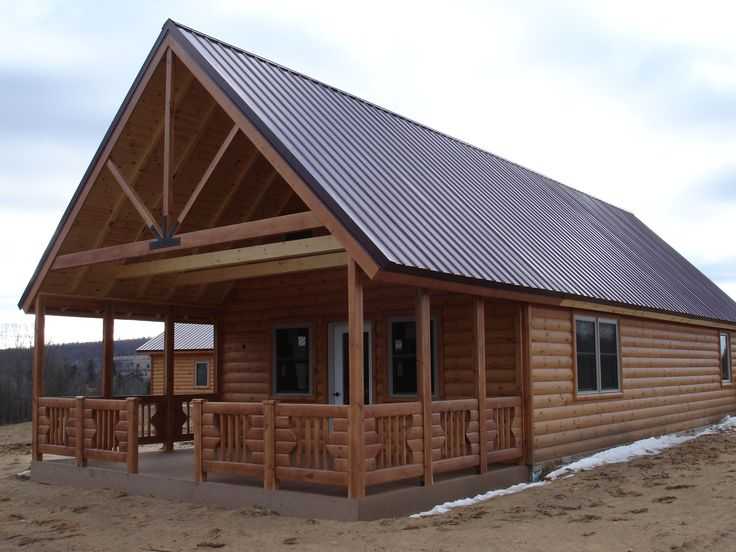 Charming 20 X 40 Cabin #8: Panel Concepts Affordable Modular Log Cabin Kits - Knotty Pine #6 800sf ( 20x40)