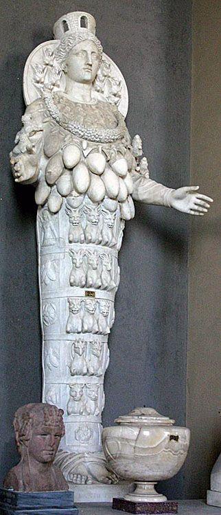 De Artemis uit het Vaticaans Museum in Rome.
