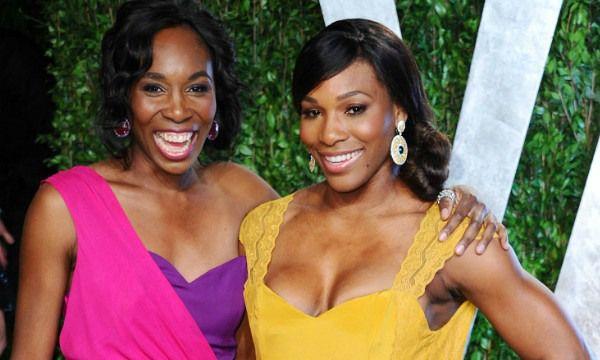 Tennis Superstars Venus and SerenaWilliams.