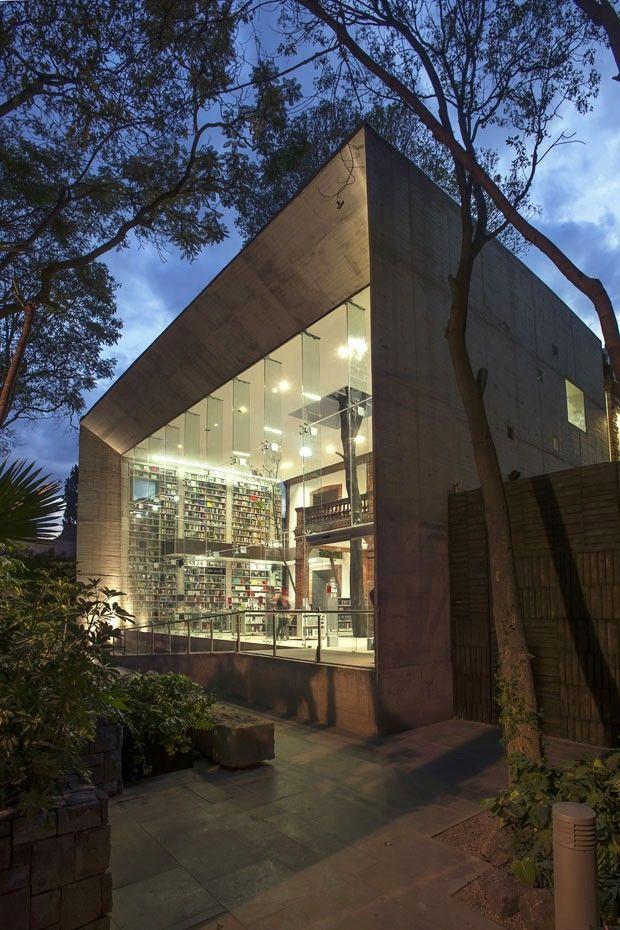 Centro Cultural Elena Garro, em Coyoacán, no México