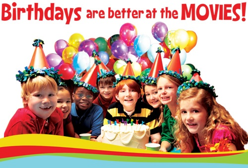 Birthday Parties at Regal Theaters | Party Ideas | Pinterest