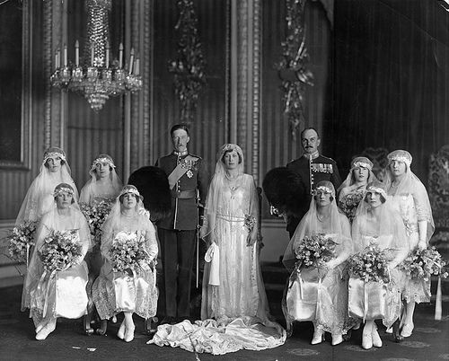 Feb. 28, 1922: The marriage of Princess Mary to Viscount Lascelles. This was a marriage reportedly forced upon her by her parents King George V and Queen Mary. Lascelles was said to be one of the richest - and ugliest - men in England.
