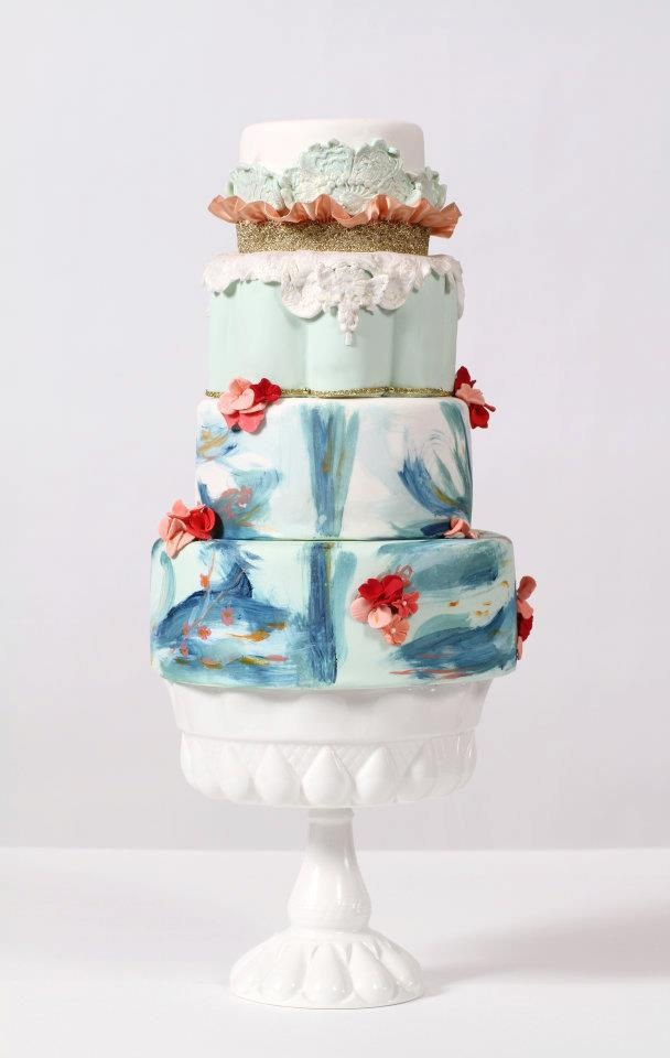 coral wedding cakes 155 best images about blue amp coral wedding on 12949