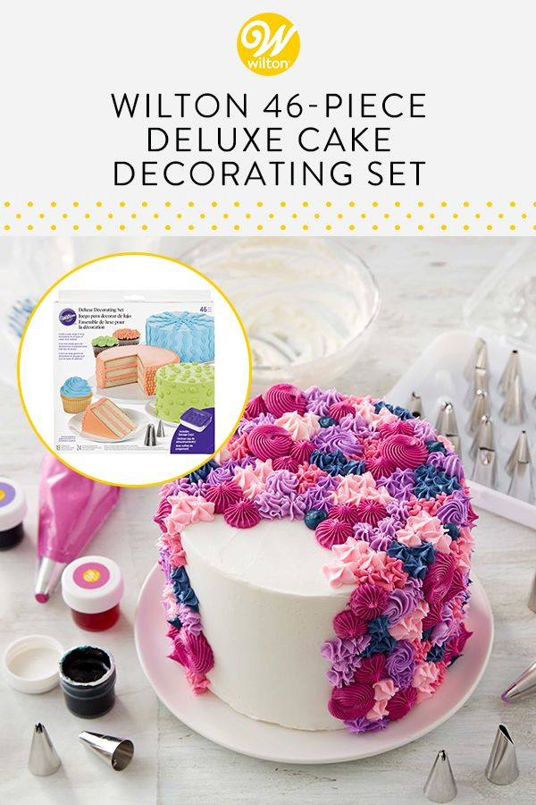 6-Piece Wilton Green and White Cookie Decorating Set