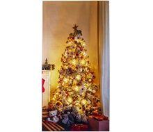 Χριστουγεννιάτικος Καμβάς Φωτιζόμενος 60x30