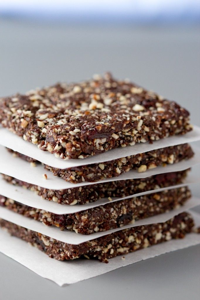really want to try these///Chocolate cherry almond energy bars