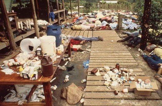 Jonestown massacre November 1978