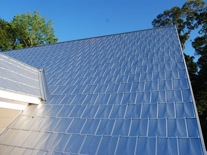 Best 53 Best Metal Shingle Roofs Images On Pinterest Metal 400 x 300