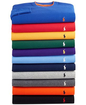 Polo Ralph Lauren Men's Thermal Tops I need these badly