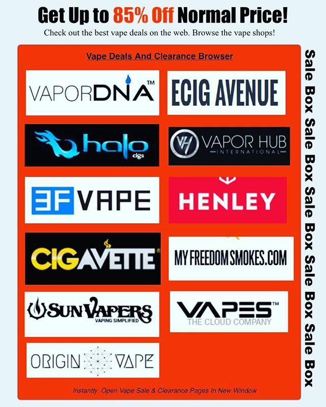 Browse Vape gear at up to 84% off at www.allvapediscounts.com  #tablites #ejuice #shopping #vapestagram #vape #ecigshop #eliquid #vapestrong #vapestore #getinvolved #gift #vapernation #vapelove #christmas #ecigs #vapeshop #vapelife #mmj #cannabiscommunity #liveneos #instavape #ukvapers #vapecommunity #josselynslucky50 #igvape #josselynssecret #onpoint #coilporn #vapeporn #vapelyfe