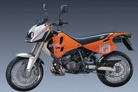 SPECIFICATION OF KTM 125 Sting 1997