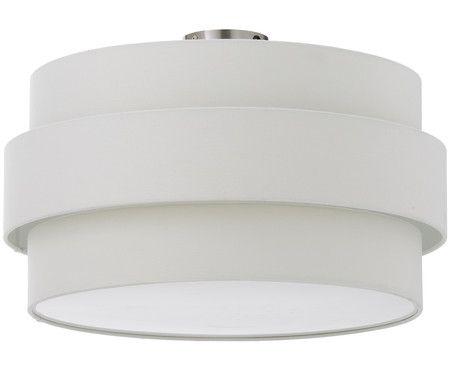 Deckenleuchte Urban-ID, Befestigung: Metall Lampenschirm: Weiß