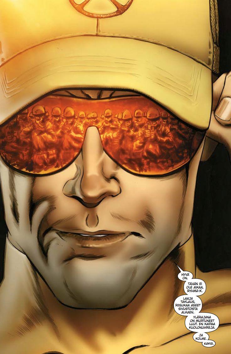 Yksi! Mars sarjiskauppaan! Xenogenesis odottaa! #Marvel #XMen #sarjisparhaus