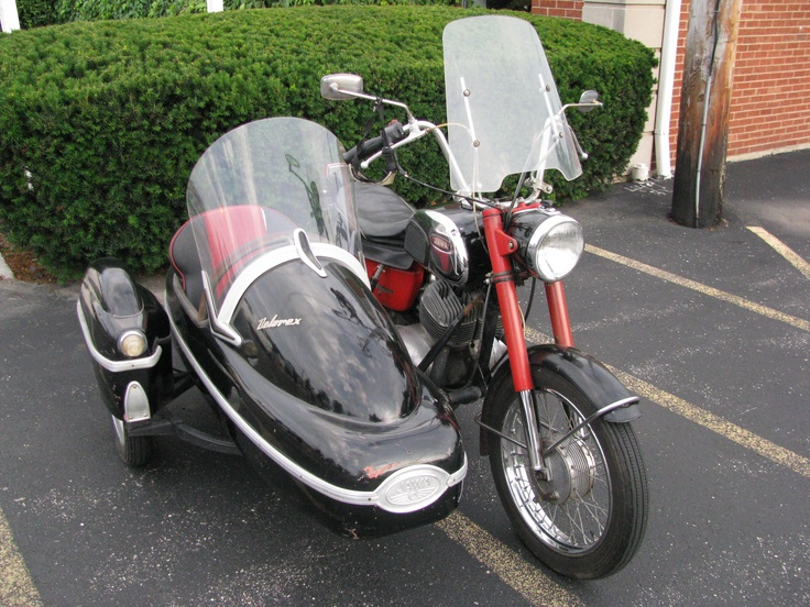 My Velorex looked just like this one. Had it on Jawa 350 and brother in laws CB750