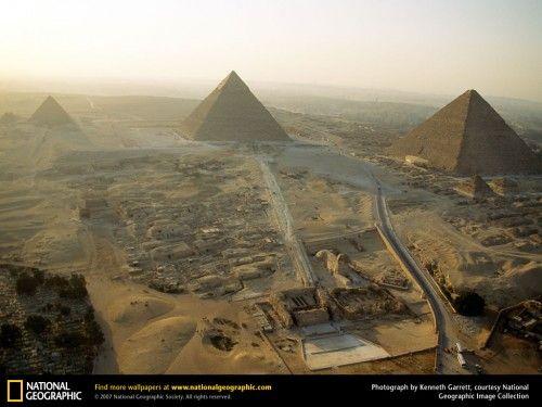Giza (National Geographic): Aerial Photo, Buckets Lists, Favorite Places, Egyptian Pyramid, National Geographic, Things Egyptian, Ancient Egypt, Dark Pyramid, Egipto Faraonico