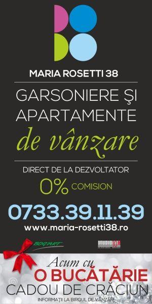 Ansamblul Rezidential Maria Rosetti 38 - Cadou de Craciun - O BUCATARIE - la cumpararea unui apartament de 2 camere direct de la Dezvoltator.  http://www.anuntulimobiliar.ro/anunturi-1-Imobiliare_Vanzari-apartamente_2_camere-1-2-1.ai