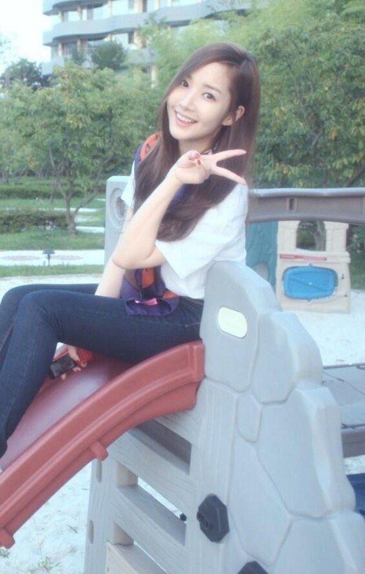 Park Min Young Says Good Morning to Fans | Soompi