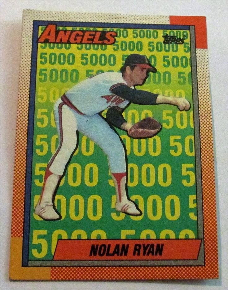 1990 topps nolan ryan the angels years card 3